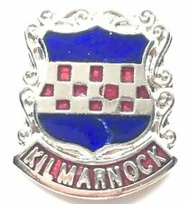 Kilmarnock Scotland Small Enamel Lapel Pin Badge (T050)