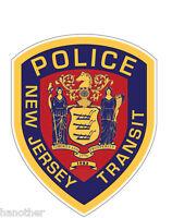 New Jersey Transit Police Vinyl Decal
