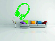 Dr Dre Beats Headphones Music Wall Sticker Vinyl Decal Wall Art Transfer