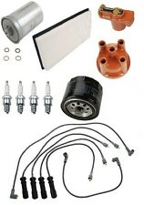 Volvo 240 90-93 L4 2.3L SOHC Ignition Tune Up Kit Sparks Filters Wire Set Bosch
