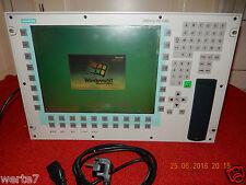 SIMENS OEM FI45-V2 LWL2S PC Touch 6AV7660-5DC00-2AT0 mit CD Rom+Flopy und Step 7