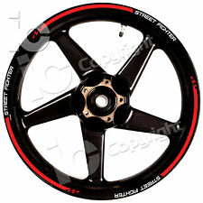 Kit Adesivi Ruote Ducati StreetFigther Desmo Racing Stickers wheels Pista