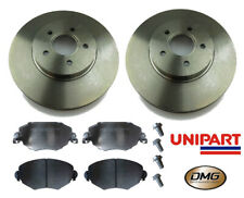 Front Brake Discs & Pads Ford Mondeo MK3 2000-2007 All Models Unipart