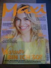Maxi Frauenzeitschrift 08/2017