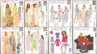 OOP McCalls Sewing Pattern Sleepwear PJs Lingerie Mixed Sizes You Pick