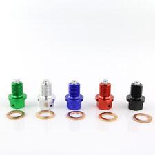 Magnetic Oil Drain Plug Bolt For Yamaha YZ360 YZ400/F YZ426/F YZF-R25 YZF-R3 Red