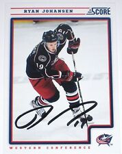 RYAN JOHANSEN SIGNED 12-13 SCORE COLUMBUS BLUE JACKETS CARD AUTOGRAPH AUTO!!!