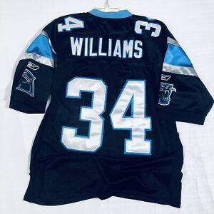 NFL Carolina Panthers Legend Steve Smith Mens Reebok Stitched Jersey- Large
