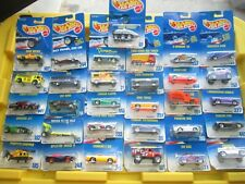 Vintage 1991 Hot Wheels Lot of 31 Cars & Trucks 1:64 Diecast on Cards