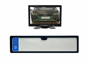 """License Plate Camera & 7 """" Monitor Fits for Honda Vehicle Etc"""