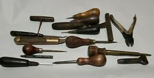 New listing Lot of Vintage Leather Working Tools O.S. Osborn� & Other Tools carving punches