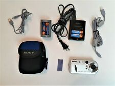 Sony CyberShot Digital Camera 3.2 Mega Pixels DSC-P72 Case Memory Stick Chargers