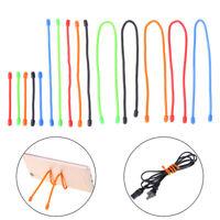 "5pcs 3''6''12"" Reusable Magic Rubber Twist Ties Cable Wire Gear Tie OrganRKUS"