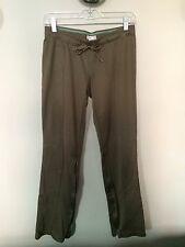 REEBOK Women's Athletic Pants Size Small Jogging Running Workout Olive Teal