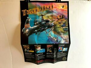 Nintendo NES ACL-TI-US Round Seal Poster Foldout INSERT ONLY Authentic Insert