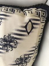 VERSACE PILLOW GREEK KEY AUTHENTIC RARE WITH TAGS ITALY