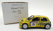 Formula 43 Kits 1/43 Scale White Metal - #19 Renault Clio RAC Rally 1995 #19