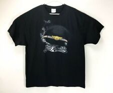 Wiz Khalifa Black Tee T Shirt XL Worn Once Concert Hip Hop Rap Tour Taylor Gang