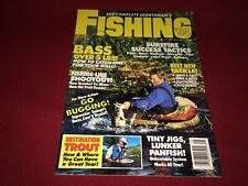 1994 The Complete Sportsman's Fishing Magazine~Tackle, Casting, Trout, Bass +