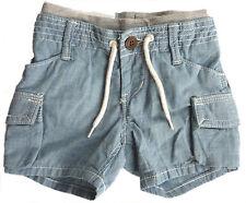 Baby Gap Jungen Cargo Shorts Sommer Baumwolle Denim Effekt Hose 3-24m