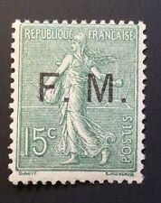 France FM N° 3 15 C Olive Neuf ** Bon Centrage Et TB Cote 210€