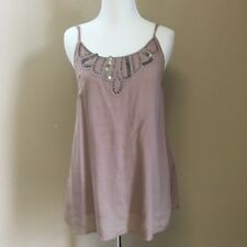 Urban Outfiters Mauve tank top with open back Urban Outfitters