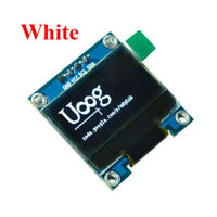 "0.96"" I2C IIC Serial 128X64 White OLED LCD LED Display Module for Arduino Kit"