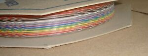 100ft REEL, 34 WAY SPECTRA STRIP Twist RIBBON CABLE 132-2802-234 127TNF2807-34