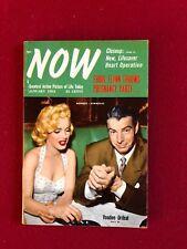 "1954, Marilyn Monroe, ""NOW"" Magazine, Vintage (Joe DiMaggio)"