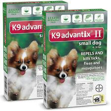 K9 Advantix II for Small Dog 4-10 lbs - 12 Pack (US EPA Approved)