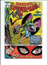 The Amazing Spider-Man #94 March 1971 Origin re-told