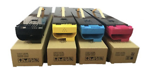 GENUINE Fuji Xerox CYAN, MAGENTA, YELLOW, BLACK set toners 700i C75 J75