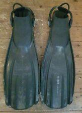 Mares Avanti Quattro ABS Fins.Black - Size Regular ... Bungee Straps