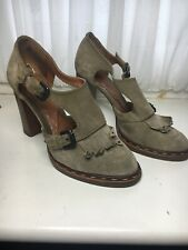 Paul Smith Suede Womens Heeled Shoes Size 40