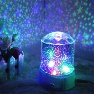 LED Starry Night Sky Romantic Galaxy Cosmos Star Light Lamp For Home Decor