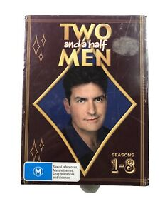 Two and a half men series 1 to 8 dvd brand new factory sealed
