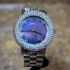 *Marc Jacobs MBM3190 Marci Crystal Bezel Stainless Steel Quartz Ladies Watch