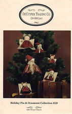 """DeCuyper Trading Craft Project Pattern """"Holiday Pins & Ornaments Collection #119"""