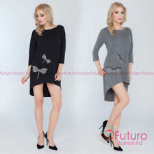 Futuro Fashion Boat Neck Mini Dresses for Women