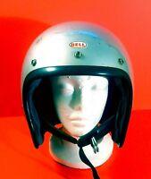 Vintage 1970's Bell Toptex Size 7 7/8 Magnum Motorcycle Helmet LOOK READ