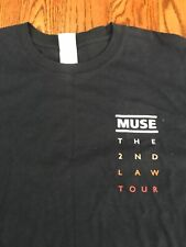 Muse: Second Law Tour Local Crew T-shirt - XL