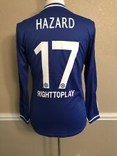Chelsea England Hazard Belgium CL Player Issue Jersey Formotion Football Shirt