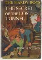 Hardy Boys #29 - Secret of the Lost Tunnel by Franklin W Dixon HB/DJ 1957A-14