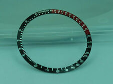 Replacement Divers Bezel - COKE BLACK RED BEZEL INSERT SEIKO 6139, 6139-6032