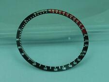 Replacement Divers Bezel - COKE BLACK RED BEZEL INSERT SEIKO 6139, 6139-6032