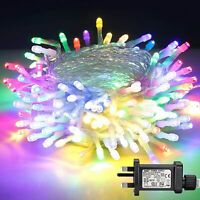 Christmas Lights, 10M/32.8ft 8 Lighting Modes LED Fairy String Lights Waterproof