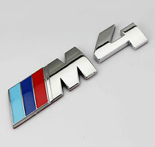 Auto Car Body chrome Badge Emblems Stickers For fit M Power M4 X4 Racing sports
