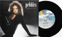 "PEBBLES - GIRLFRIEND - 7"" 45 VINYL RECORD w PIC SLV - 1987"