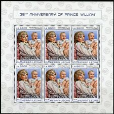 Z08 Djb17416ab Djibouti 2017 Prince William Mnh ** Postfrisch Set Dschibuti Afrika