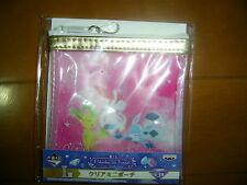 Pokemon Ichiban Kuji Pikachu and Friends Eevee twinkle dream Clear Mini Pouch A
